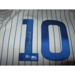 Ron Santo Autographed Hall of Fame Jersey